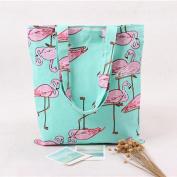 Ularma Women Flamingos Shoulder Bag Backpack Shopping Bag Travel Bag
