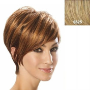 Angled Cut Synthetic Wig by Jessica Simpson Hairdo - SS25 Rooted Ginger Blonde