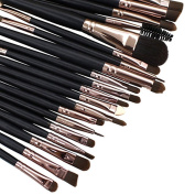 Bomien Soft Powder Foundation Eyeshadow Eyeliner Lip Makeup Brushes Make Up Sets 20 pcs