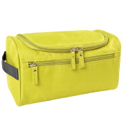 Qearly Portable Waterproof Storage Toiletry Bag Travel Cosmetic Bag-Green