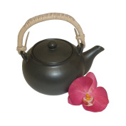 Pinks Boutique Black Teapot Set