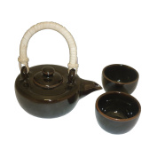 Pinks Boutique Brown Teapot Set