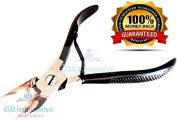 Heavy Duty Toe Nail Cutter Clipper Chiropody Thick Nails Black Nail Cutter 11cm Black