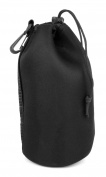 Black Soft Neoprene Large-Sized Pouch Case for Canon EF-M 18-150mm F3.5-6.3 STM - by DURAGADGET