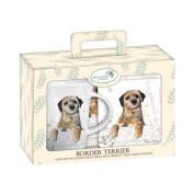 Tea Time Gift Set - Border Terrier