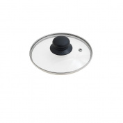 Oryx 5023400 - Glass Lid for Frying Pan, 16 cm, Edge Stainless Steel, Transparent