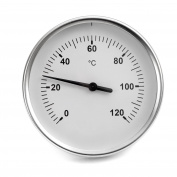 Lantelme 5728 Smoker Thermometer Analogue/Bimetal