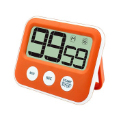 Digital Kitchen Cooking Timer, Jeasun Magnetic Kitchen Alarm Timer Cooking Timer Count Down with Large LCD Display Screen, Loud Sounding Alarm, Battery Operated for Cooking/School/Gym