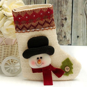 HARDWARE FOR YOU CHRISTMAS CUTE SNOWMAN STOCKING DECORATION