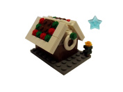 LEGO Christmas Gingerbread House with Christmas Tree