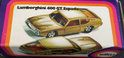 Vintage Siku 1975 Lamborghini 400 GT Espada V317 Diecast Replica Vehicle 1:60 Scale Metallic Gold Car Number 1024 Mint Condition In The Original Box - Brand New Shop Stock Room Find Ultra Rare Vintage Item