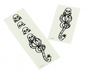 New 5PCS Dark Mark Death Eater Temporary Halloween Cosplay TATTOO