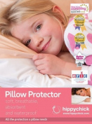 Hippychick Jersey Pillow Protector 75x50 cm - White