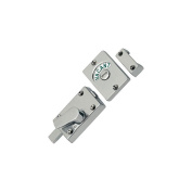 Polished Chrome Bathroom Toilet Lock Indicator Bolt Vacant & Engaged by Dale Hardware