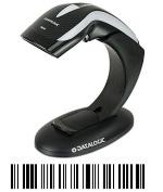 DataLogic 1D Barcode-Scanner Heron HD3130 incl. Standfuß Linear Imager black Hand-Scanner