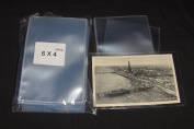 100 x Postcard Sleeves - for Use with Vintage Postcards and Photographs