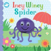 Little Me Incy Wincy Spider Finger Puppet Book [Board book]