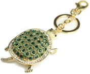 QUADIVA Bag Charm Turtle bag pendant for woman (colour