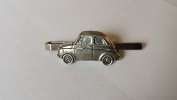 Fiat 500 on a Tie Clip (slide) made from Fine English Pewter