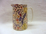 William Morris flora design small jug made for the Abbeydale collection for Heron Cross Pottery