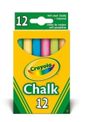 Crayola - Anti Dust Assorted Chalk(1) by Crayola