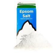 White Mountain Epsom Salt Bulk Pack -- 1.8kg Total