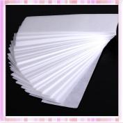 Hearts Shop 100pcs Professional Armpit Leg Hair Removal Wax Paper Depilatory Nonwoven Epilator
