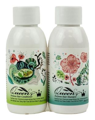 Queen Natural Hair Shampoo & Conditioner (1.52oz, 45ml)