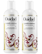 Ouidad Climate Control Heat and Humidity Gel for Unisex, 250ml - 2 pack
