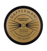 Dapperman Naturally Derived 90ml Righteous Hold Matte Clay