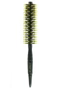 Mini Bangs modelling Round Hair Brush, Natural Boar Bristles Brush 4.1cm