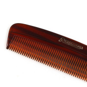 Prospectors Fine-Tooth Comb 11cm - Natural Plant Cellulose Hair Comb!