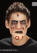 Halloween Stick On Rotting Zombie Chin