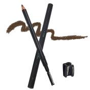 TC Joy Waterproof Eyebrow Pencil, with Pencil Sharpener and Brow Brush, Light coffee-2#