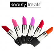 Set of 6 Colours Beauty Treats Velvet Matte Lipstick