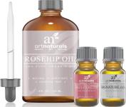 Art Naturals Rosehip Seed Oil 3 Piece Set