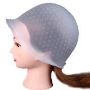 AMA(TM) Professional Reusable Hair Colouring Highlighting Dye Cap Hat and Hook Hair Salon