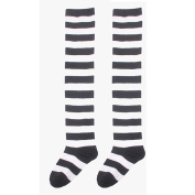 OVERMAL Womens Halloween Cosplay Striped THIGH HIGH SOCKS Over Knee