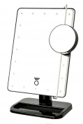 Sharper Image JS911B 20cm by 28cm Cordless LED Vanity Mirror and Beauty Station