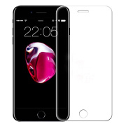 iphone 7 Plus screen protector,ABCsell Clear TPU Gel Skin Case Cover+3D Full Coverage Tempered Glass Film Screen Protector