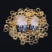 Nizi Jewellery 3D Nail Art Deacrations Metal Stickers Decals Many Styles
