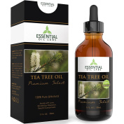 Tea Tree Oil - Therapeutic Grade 45% terpinen-4-ol (Australian) - 30ml with Glass Dropper - Premium Select from Essential Oil Labs