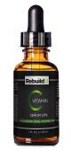 Organic & Natural Vitamin C Serum by RebuildU   Premium Professional Skin Care Formula w/ 20% Vitamin C, Hyaluronic Acid, Vitamin E   30ml