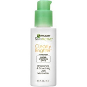 2 Bottles of Garnier SkinActive Clearly Brighter Smoothing Moisturiser with SPF 15 70ml ea
