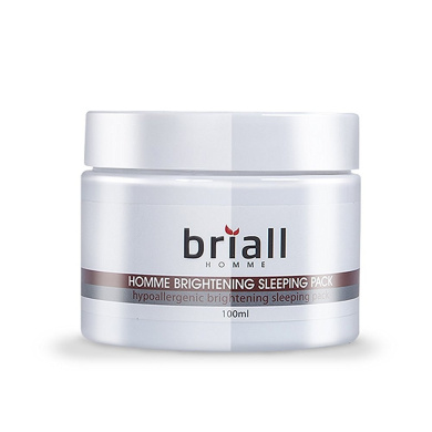 Briall Homme Whitening Sleeping Pack 100ml