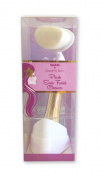 SpaLife Dreamy Plush Sonic Cleansing Facial Brush - Gold