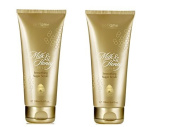 2 PIECES ORIFLAME MILK AND HONEY GOLD SMOOTHING SUGAR SCRUB WITH ORGANIC EXTRACTS OF MILK AND HONEY-200 GM 200ml EACH-100 % ORIGINAL AUTHENTIC-LONG EXPIRY
