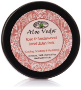 Aloe Veda Rose & Sandalwood Ubtan (Cooling, Soothing And Hydrating), 50 gm