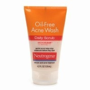 Neutrogena Oil Free Acne Wash Daily Scrub, 120ml - 2pc