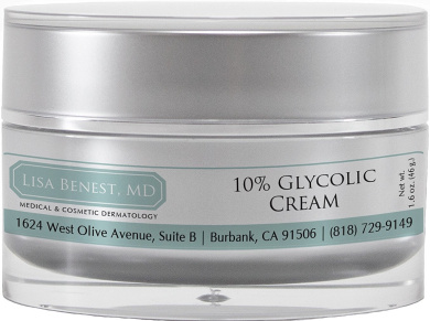 Dr Lisa Benest Skin Care 10% Glycolic Acid Anti-Ageing Face Cream 45ml
